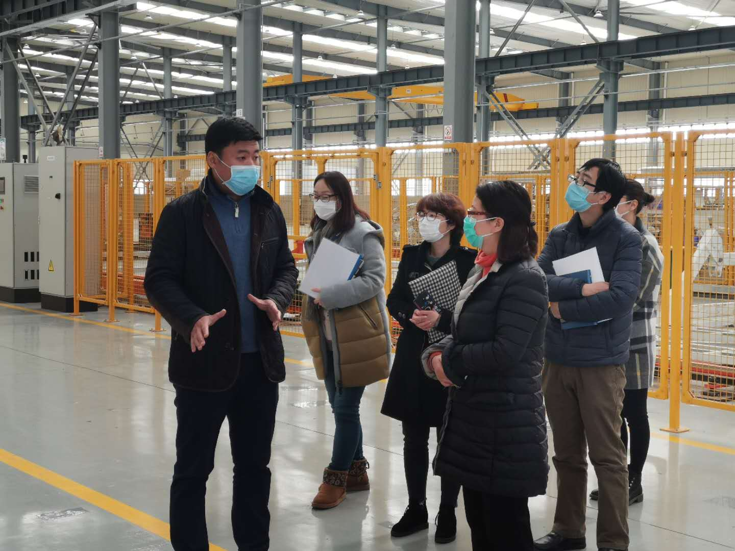 Songjiang District Leaders Toured Junyi to Inspect Epidemic Prevention and Control Work!