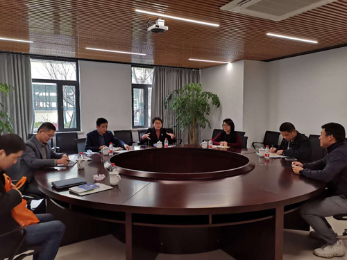Secretary of Town Party Committee, Zhao Huiying, and Her Party Visited and Investigated Shanghai Junyi